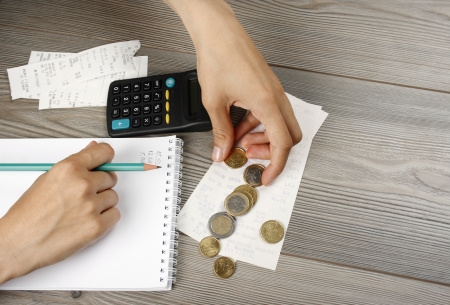 Counting the household budget