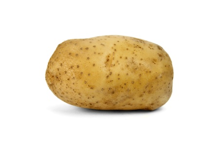 isilated: Potato isilated on white background