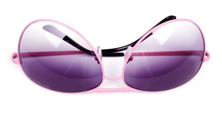 Pink sunglasses isolated on white background Stock Photo - 18105440