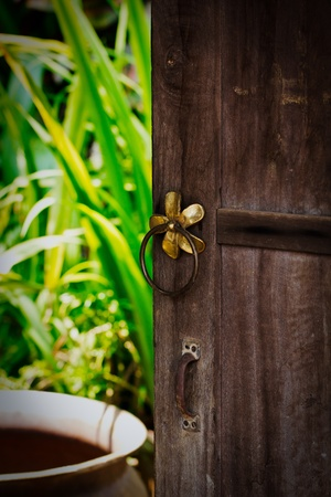 front door thai style photo