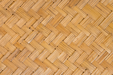 a photo of rattan woven texture photo