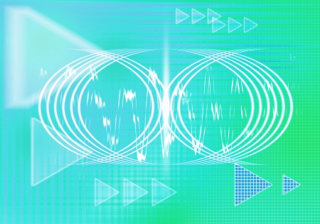a graphic of abstract digital graphic background photo