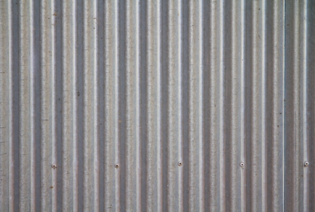 a photo of old corrugated metal for  texture or background photo