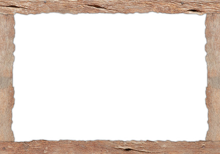 Wood plank texture with isolated copy space photo