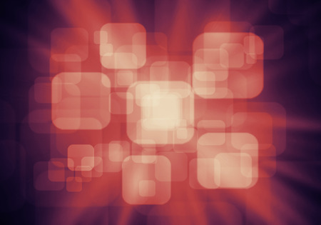 a graphic of fantasy round rectangle abstract background