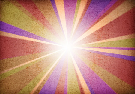 a graphic of abstract background explosion,vintage retro style with fabric texture
