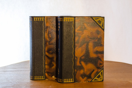 antiquarian: Old Book - Antiquarian Stock Photo
