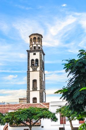 santa cruz: The church Iglesia Parroquia de Nuestra Seora de la Concepcion Matriz. Featured Buildings in Santa Cruz, the capital of Tenerife.