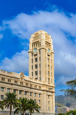 insular: The Cabildo Insular de Tenerife, the government building. Featured Buildings in Santa Cruz, the capital of Tenerife. Editorial
