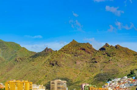 santa cruz: The Anaga Mountains, on the outskirts of Santa Cruz. Places to See in Santa Cruz, the capital of Tenerife.