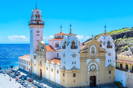 The Basilica of Candelaria, Tenerife Editorial