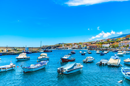The port of Candelaria, Tenerife