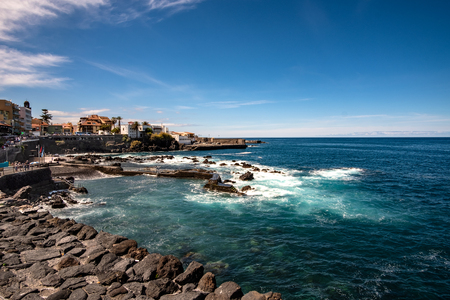 San Telmo this bay and swimming area is located in downtown Puerto de la Cruz on Tenerife