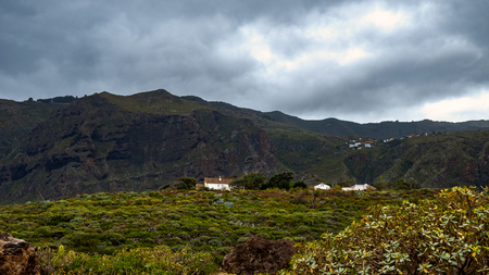 The Teno Mountains - La Caleta de Interina small town located on the north coast of Tenerife between Los Silos and Garachico.
