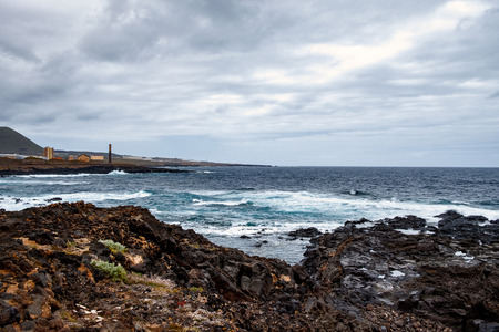The coast to Buenavista del Norte - La Caleta de Interina is located on the north coast of Tenerife between Los Silos and Garachico.