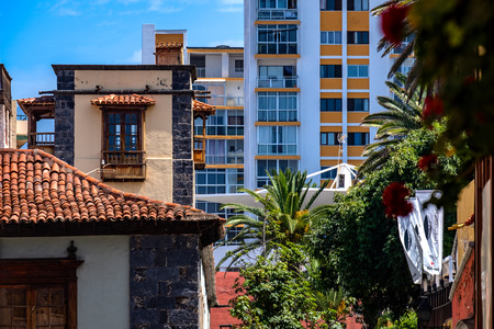 2019-03-21 Puerto de la Cruz, Spain - View from Puerto de la Cruz. Editorial