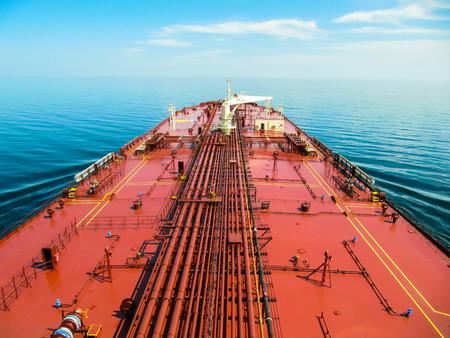 Oil tanker Archivio Fotografico