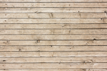 Background of weathered used wooden surface texture. Foto de archivo