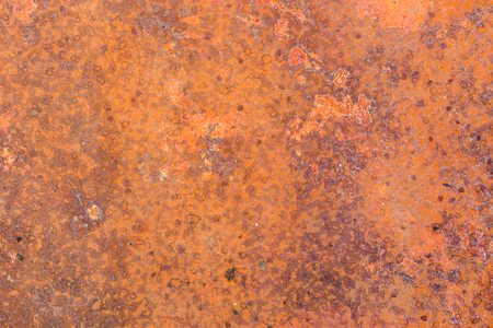 Red rusty sheet of a metral, background.