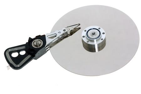 analyzed: master node disk Stock Photo