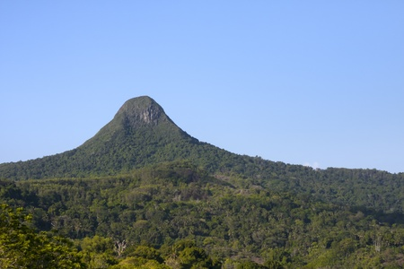 mayotte: Mountain of the Mount Choungui on the ile of Mayotte