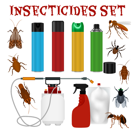 Insect repellent set Çizim