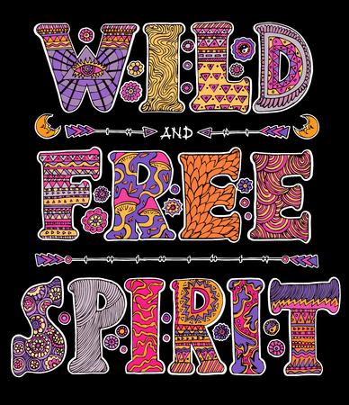 sauvage et esprit libre