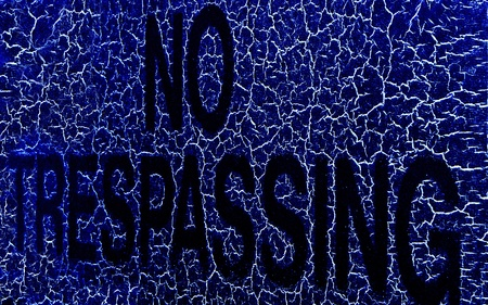 No Trespassing! Stock Photo - 9969501