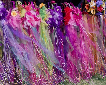Fairy Tiaras Blowing in the Wind