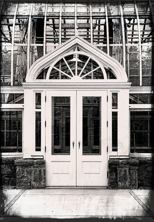 Monochrome Glass Conservatory