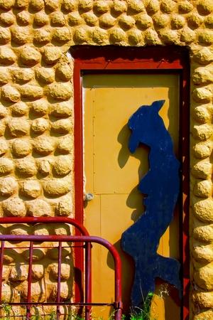 stockman: Cowboy Silhouette in Doorway