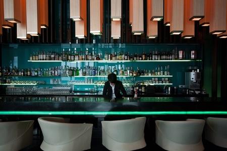 hotel bar: Relaxing hotel bar