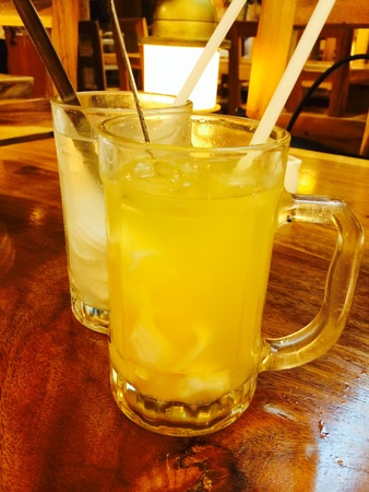 quenching: Indonesian Drinks good for quenching thirst Stock Photo