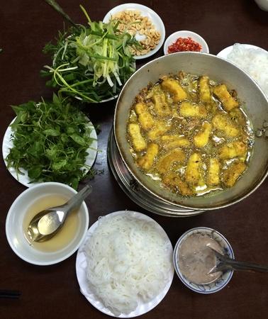 filete de pescado: Vietnamita filete de pescado a la parrilla