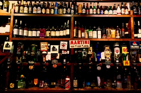 martini shaker: Wine bar with great choices