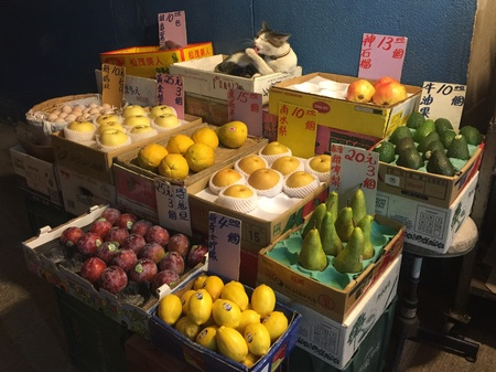 fruit stall Stock fotó - 83971991
