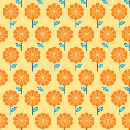 bedclothes: Flowers background in doodle style, template for use as packaging, paper, bedclothes