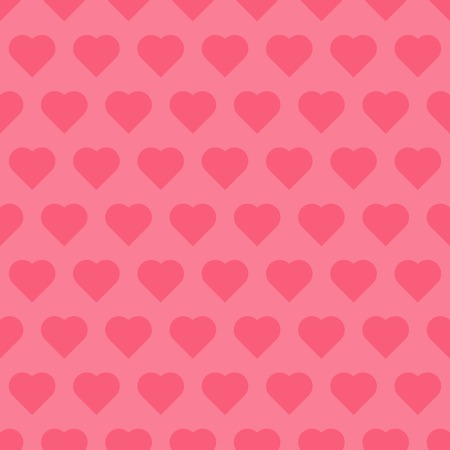 beguin: Seamless pattren with hearts, maiden vector background Illustration
