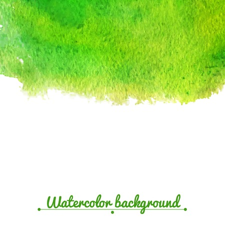 Watercolor vector background with space for text Vector
