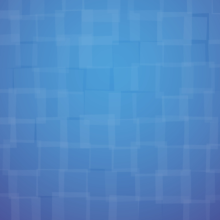 chaotically: abstract background with chaotically located blue squares