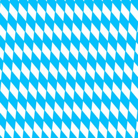 pape: Oktoberfest holiday background with blue and white rhombus disposed diagonally, flag Bavaria
