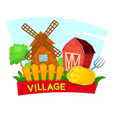 The village concept design country landscape