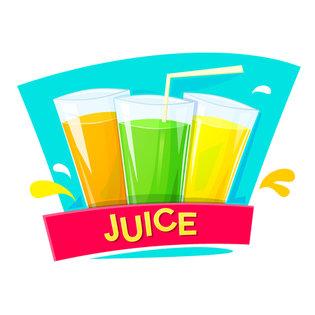 Juice concept design Illustration