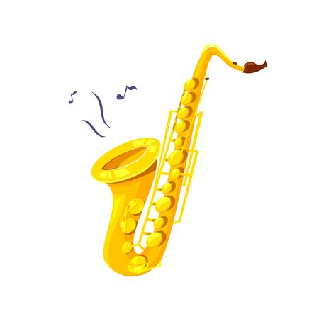 Saxophone vector illustration