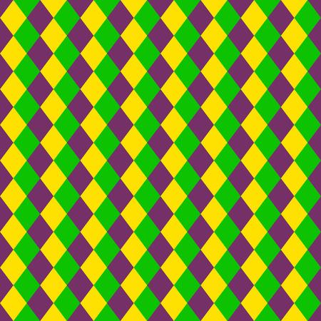 Mardi Gras naadloos patroon