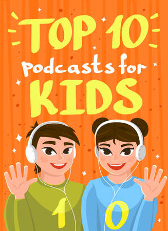 Top podcasts for kids web banner