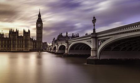 kingdom: London United Kingdom Sunset Clouds