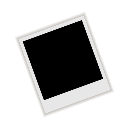 polariod frame: Photo Frame with shadow