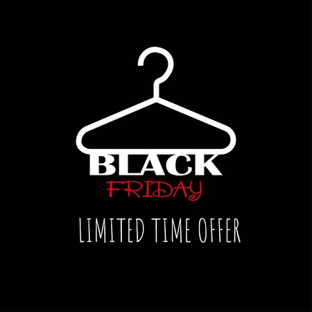 Black friday poster and back