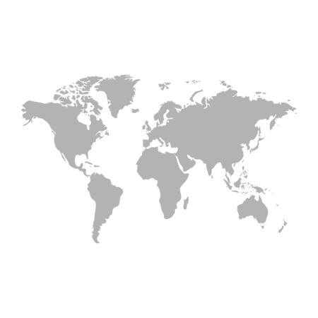 world map - Vector illustration